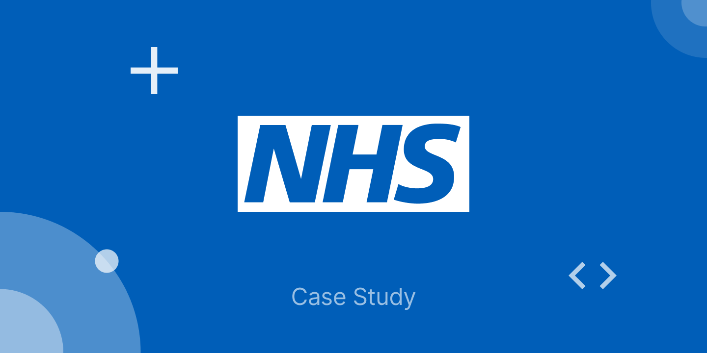 Ionic Case Study: National Health Service